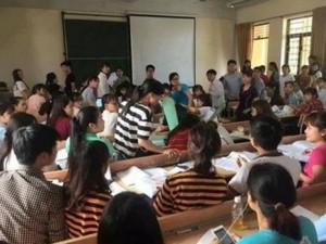 Tin tức Việt Nam - Đang ngồi học, 2 sinh viên bị quạt trần rơi vào đầu
