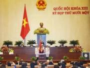 Tin tức trong ngày - Tổng thư ký QH nói về việc đại biểu chụp hình lúc tuyên thệ