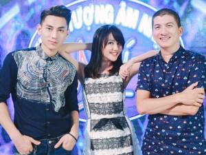 Sao ngoại-sao nội - Văn Mai Hương trẻ trung bên Isaac chấm thi Vietnam Idol Kids