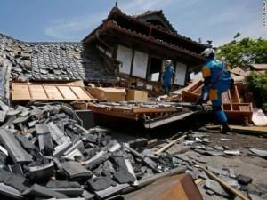 Thế giới - 29 người chết, 1500 bị thương sau động đất 7,3 độ ở Nhật