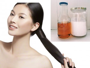 Làm đẹp - Chăm sóc tóc sáng mượt với baking soda và giấm táo
