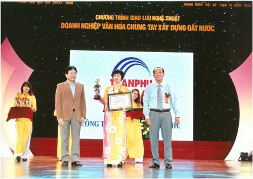 Công ty CP Cơ điện Trần Phú đạt giải thưởng Doanh nhân vàng thế kỷ 21 - 1