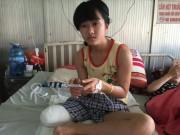 Tin tức trong ngày - Vụ nữ sinh bị cưa chân: GĐ bệnh viện xin số tài khoản