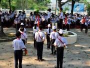 Tin tức trong ngày - Toàn trường tổ chức lễ mặc niệm 9 học sinh đuối nước