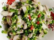 Ẩm thực - Thịt lợn luộc trộn chua ngọt lạ miệng, hút cơm