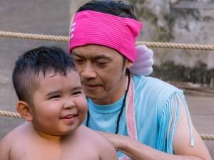 Phim - Video phim: Hoài Linh dạy Ku Tin tập võ
