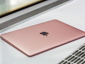 Thời trang Hi-tech - Cận cảnh MacBook màu vàng hồng thời thượng