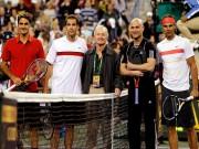 Thể thao - Video kinh điển: Federer-Sampras đấu Agassi-Nadal
