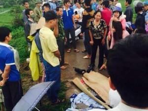 Tin tức trong ngày - HN: Công nhân bị sét đánh tử vong trên đường đi làm