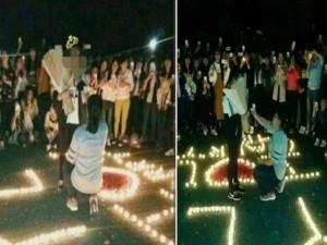 Bạn trẻ - Cuộc sống - Nữ sinh đại học cầu hôn bạn gái gây xôn xao