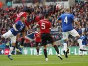 Bóng đá - Chi tiết Everton - MU: Người hùng Martial (KT)