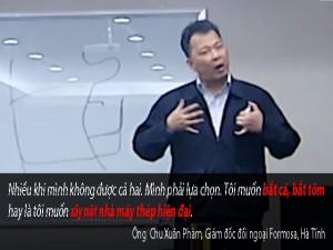 """Tin tức trong ngày - Nói """"chọn nhà máy hay tôm cá"""", đại diện Formosa trần tình"""