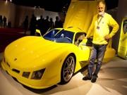Thể thao - 300 triệu VNĐ: Ông lão tự chế siêu xe thể thao