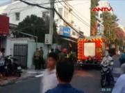 Video An ninh - Cháy nhà tập thể ở Sài Gòn, hàng chục người tháo chạy