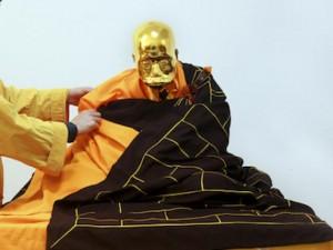 Thế giới - Dát vàng xác ướp Phật sống tại Trung Quốc để thờ