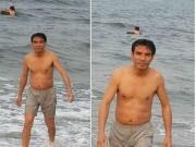 Tin tức trong ngày - Nghệ An: Chủ tịch Cửa Lò tắm biển, ăn hải sản