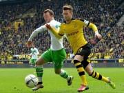 Bóng đá - Dortmund - Wolfsburg: Chiến đấu hết mình
