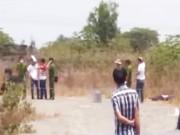 Video An ninh - Phát hiện người đàn ông chết bất thường ở bãi đất trống