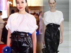 Thời trang - Váy hot nhất tuần: Đầm gây tranh cãi của Thanh Hằng