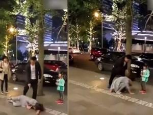 Bạn trẻ - Cuộc sống - Nghi ngoại tình, chồng đánh đập vợ trước mặt con gái