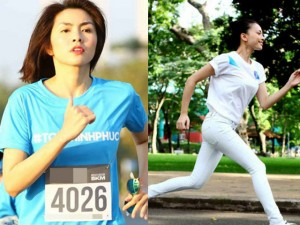 Tư vấn làm đẹp - 5 mỹ nhân Vbiz mê chạy bộ để giữ dáng