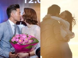 Phim - Minh Hằng - Quý Bình tình tứ từ phim ra đời thật