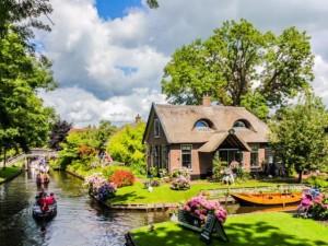 """Thế giới - Vẻ đẹp mê đắm của ngôi làng """"Venice"""" ở Hà Lan"""