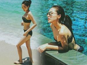 Thời trang - Kỳ Duyên khoe thân hình bikini hấp dẫn ở Phan Thiết