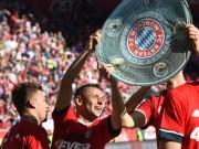 """Bóng đá - Bayern lập poker Bundesliga: Kỷ lục """"thường ở huyện"""""""