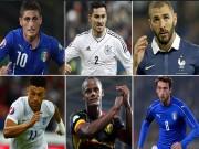 Bóng đá - 10 ngôi sao đình đám ngồi nhà xem Euro 2016