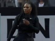 """Thể thao - Serena - Friedsam: Vẫn """"chạy"""" tốt (V2 Rome Masters)"""