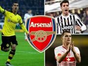 """Bóng đá - Tin HOT tối 12/5: Arsenal chi 80 triệu bảng tậu 3 """"bom tấn"""""""