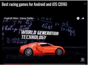 Công nghệ thông tin - Những game đua xe hot nhất 2016 cho 'dế' chạy Android và iOS