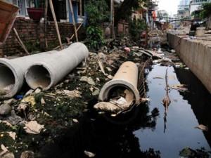 Tin tức trong ngày - HN: 8 năm không xong 1km mương, dân sống chung với muỗi