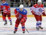 Thể thao - Tổng thống Putin ghi điểm, giành cúp khúc côn cầu