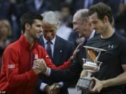 """Thể thao - Phế ngôi Nole, Murray """"bội thu"""" ở Rome ngày sinh nhật"""
