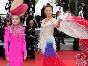Thời trang - Tuyển tập khách mời nổi vì mặc xấu tại Cannes 2016