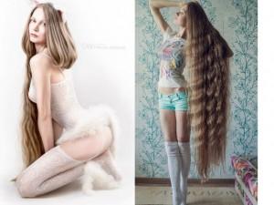 Làm đẹp - Mỹ nhân Nga nổi tiếng nhờ mái tóc đẹp mê hồn