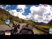 Video An ninh - Clip: Chàng trai du lịch qua 36 quốc gia bằng moto