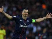 Bóng đá - Ibra lép vế siêu phẩm sút xa ở top 5 bàn V38 Ligue I
