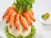 Ẩm thực - Nguy hiểm khôn lường khi ăn tôm sai cách