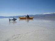 Thế giới - Hồ nước bất ngờ xuất hiện giữa thung lũng Chết