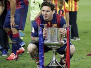 """Bóng đá - CK cúp nhà Vua: Messi là """"bùa hộ mệnh"""" của Barca"""