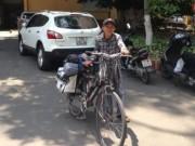 """Sức khỏe đời sống - Chàng trai """"khùng"""" đạp xe xuyên Việt vận động hiến tạng"""