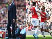 """Bóng đá - HLV Wenger cảnh giác trước """"mối đe dọa"""" từ Ozil và Sanchez"""