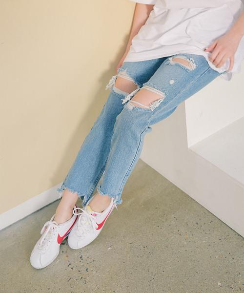 Cách đơn giản chinh phục quần jeans tua rua - 3