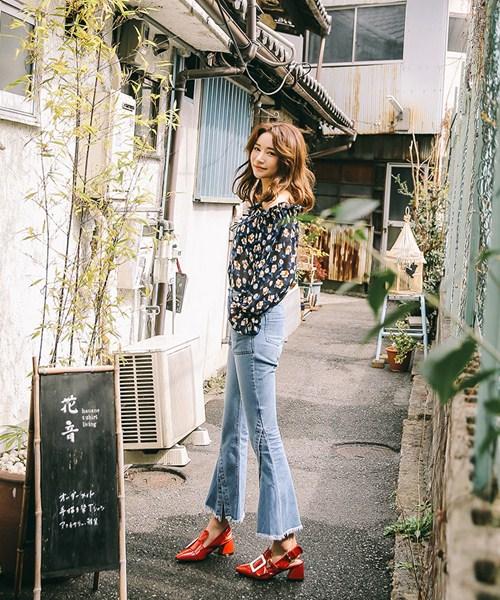 Cách đơn giản chinh phục quần jeans tua rua - 9