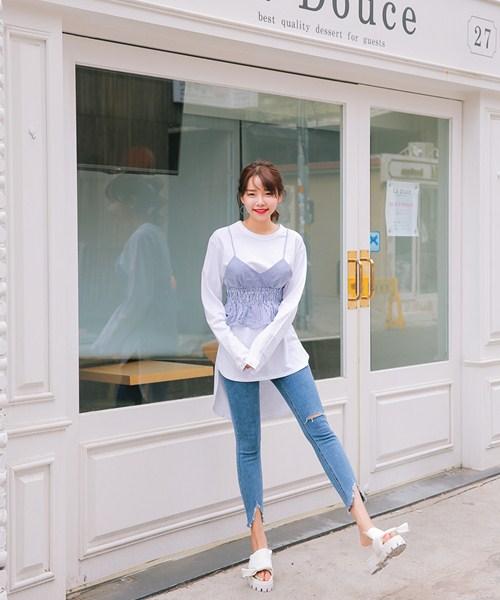 Cách đơn giản chinh phục quần jeans tua rua - 13