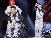 Ca nhạc - MTV - Yanbi ngồi xe lăn hát vẫn bị loại khỏi X-Factor