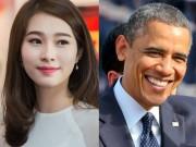 """Thời trang - HH Thu Thảo """"mừng và lo"""" vì được gặp Tổng thống Obama"""